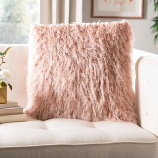 Safavieh Shag Modish Metallic Decorative Pillow