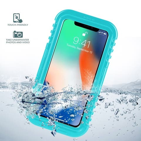Hard Waterproof Case for iPhone X iphone Xs