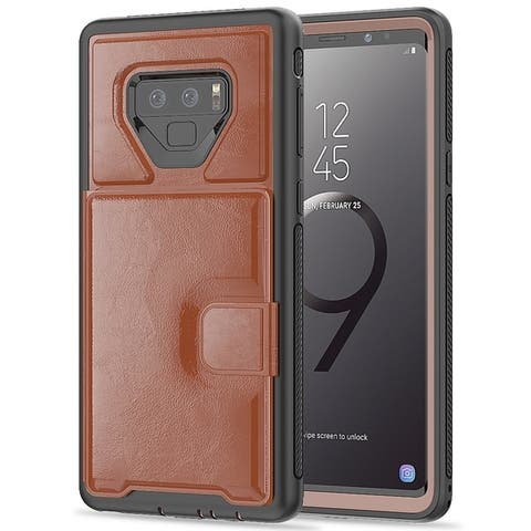Wallet Case with Viewing Kickstand for Samsung Galaxy Note 9