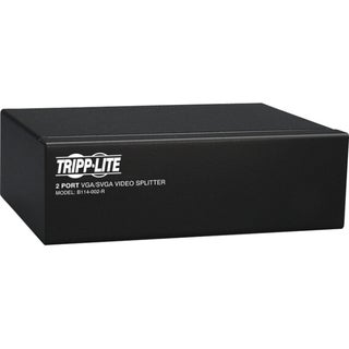 Tripp Lite 2-Port VGA / SVGA Video Splitter Signal Booster High Resol