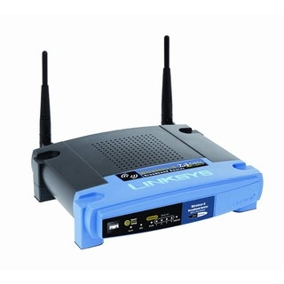 Linksys WRT54GL IEEE 802.11b/g Wireless Router