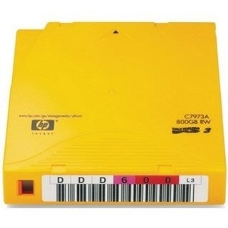 HP C7973AN LTO Ultrium 3 Non-Custom Labeled Tape Cartridge
