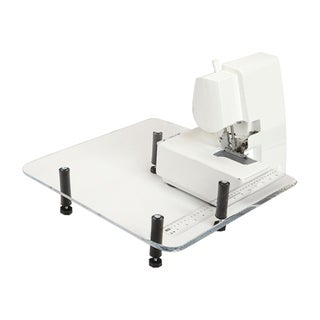 """Sewingrite 18"""" x 18"""" Small Serger Featherweight Portable Table - N/A"""