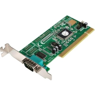 StarTech.com 1 Port Low Profile PCI RS232 Serial Adapter Card - Seria