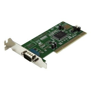 StarTech.com 1 Port Low Profile PCI RS232 Serial Adapter Card - Seria
