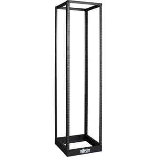 Tripp Lite 45U 4-Post Open Frame Rack Cabinet Square Holes 1000lb Cap