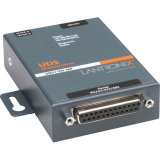 Lantronix 1-Port Serial (RS232/ RS422/ RS485) to Ethernet Industrial