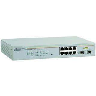 Allied Telesis WebSmart AT-GS950/8-10 Gigabit Ethernet Switch