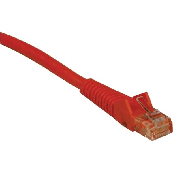 Tripp Lite 14ft Cat6 Gigabit Snagless Molded Patch Cable RJ45 M/M Ora
