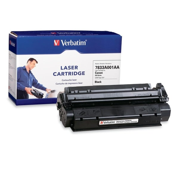 Verbatim Remanufactured Laser Toner Cartridge alternative for Canon S