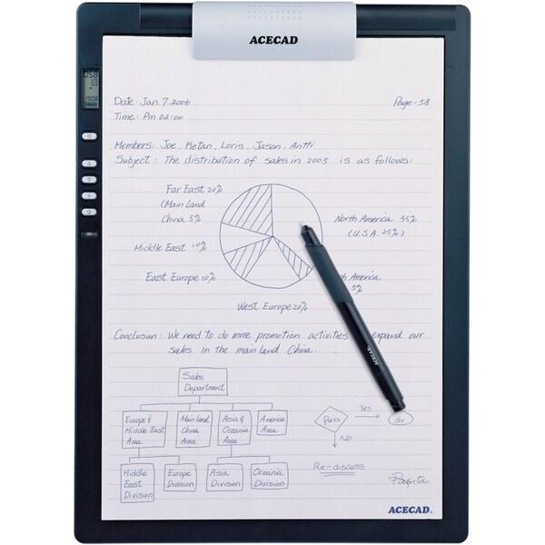 "Solidtek Acecad DigiMemo L2 8.5"" x 11"" digital notepad for PC & Mac D"