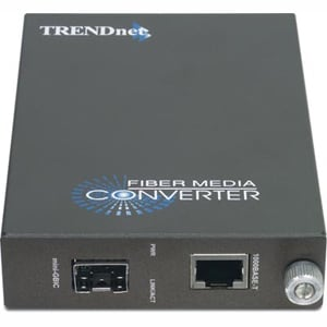 TRENDnet TFC-1000MGB 1000Base-T to SFP Media Converter