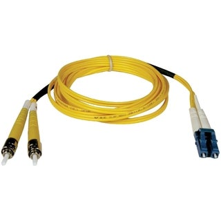 Tripp Lite 5M Duplex Singlemode 8.3/125 Fiber Optic Patch Cable LC/ST