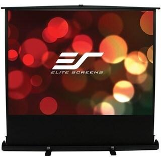 Elite Screens F100XWH1 ezCinema Plus Portable Floor Set Manual Projec