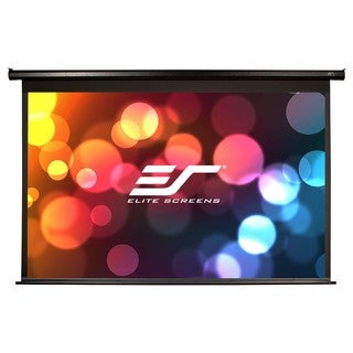 Elite Screens Electric84H Spectrum Ceiling/Wall Mount Electric Projec