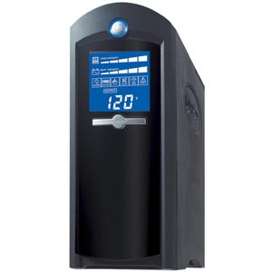 CyberPower Intelligent LCD CP1350AVRLCD 1350 VA Tower UPS