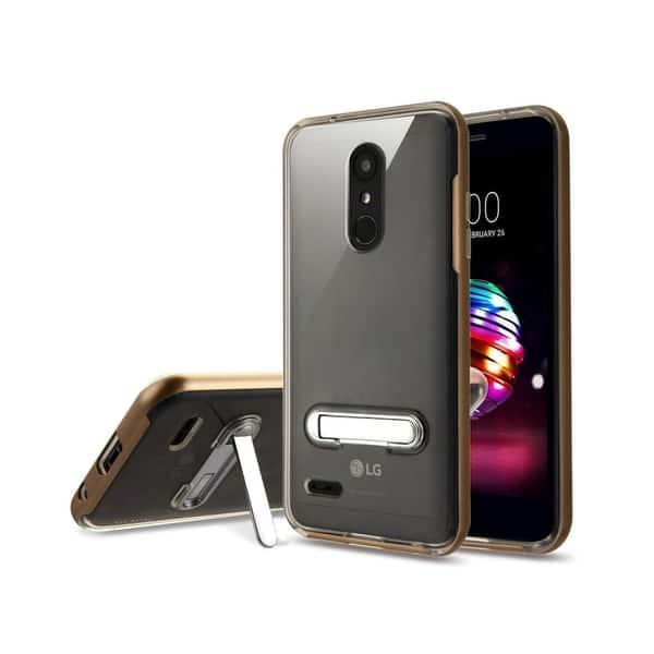Shop Insten For LG K10 (2018)/K30/Premier Pro LTE Clear Gold