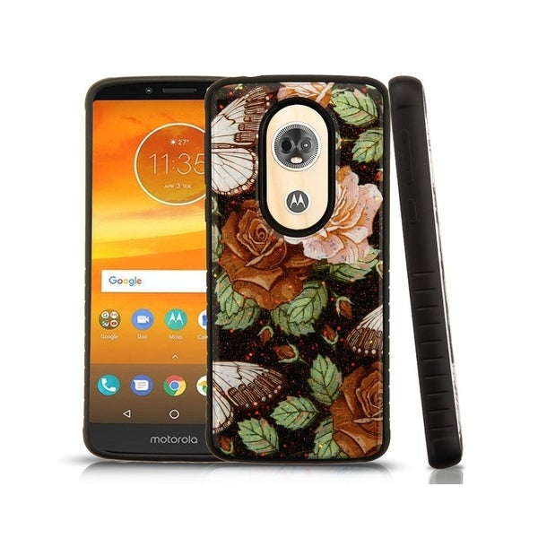 a9de9ae9f5c4 Shop Insten For Motorola Moto E5 Plus E5 Supra Multi-Color Lucky Flowers  Hard Hybrid Case - Free Shipping On Orders Over  45 - Overstock.com -  26379488