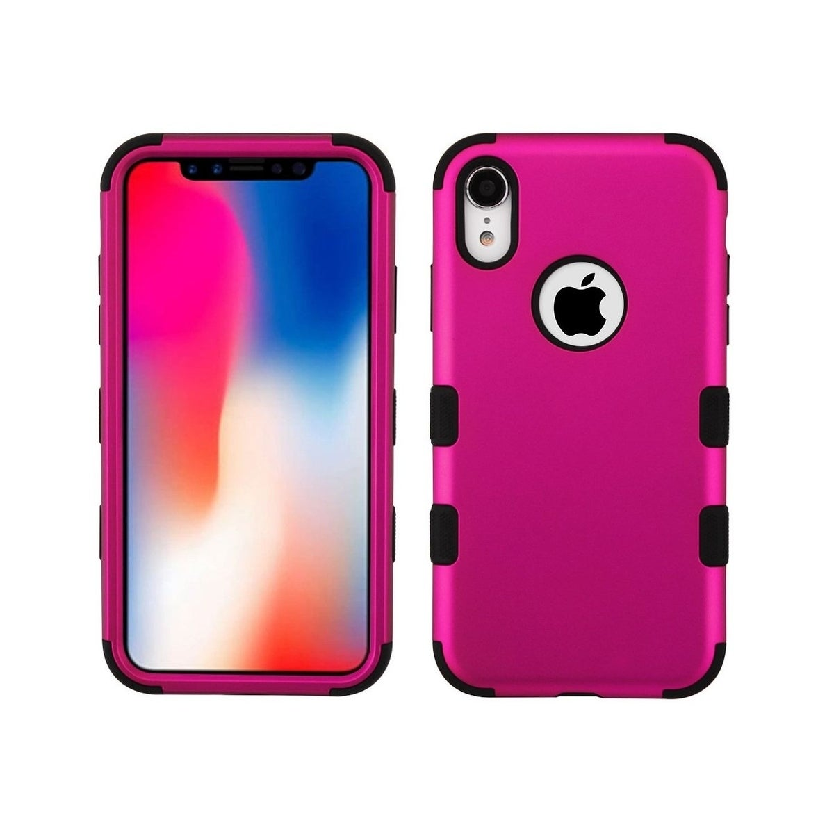 Rubber and Plastic Phone Cover Case