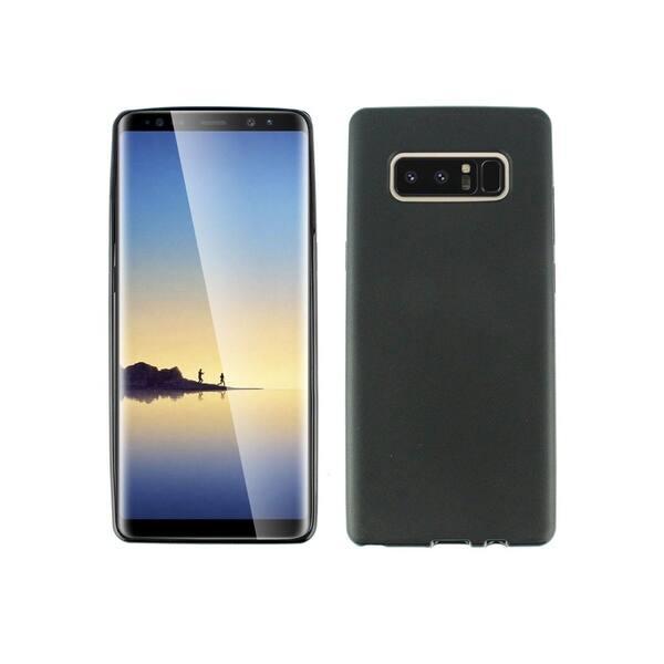 best website 073bc 3fab4 Shop Insten For Samsung Galaxy Note 8 Black Rubber Silicone Skin Gel ...