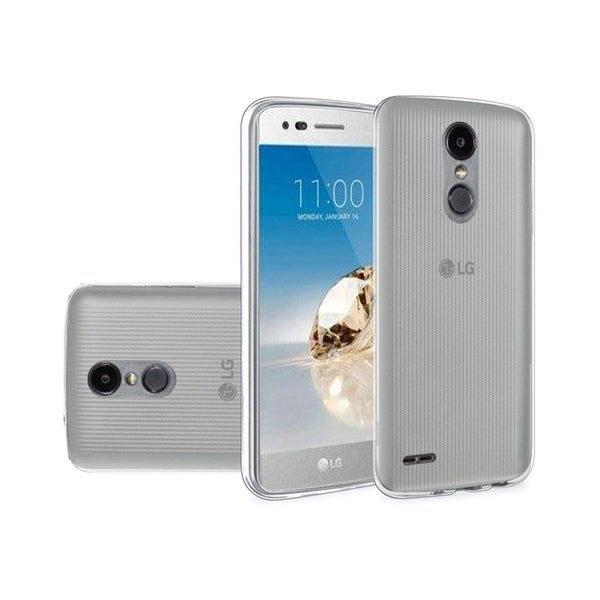 Insten For LG Aristo 2/Fortune/Tribute Dynasty Clear Rubber Case Cover