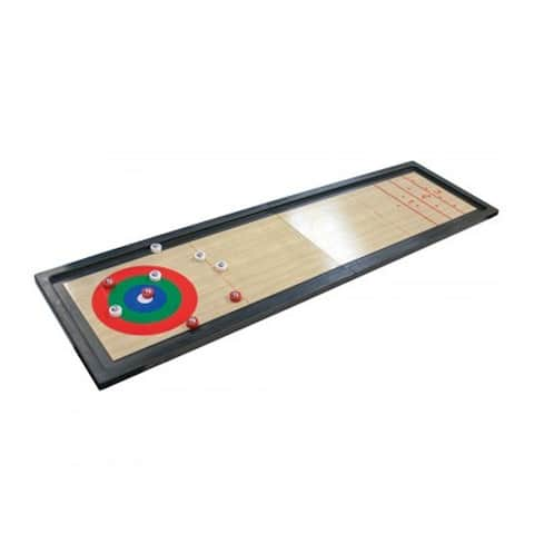 Bulk Buys 3 In 1 Durable Plastic Shuffleboard Tabletop Game