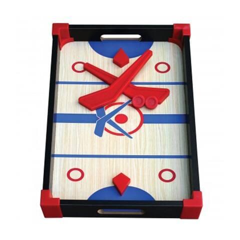 Bulk Buys Slap Shot Hockey Tabletop Wooden Game Board - 2 Pack