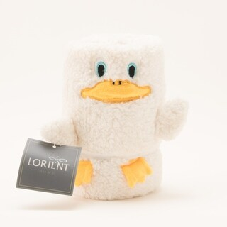 Baby Sherpa Animal Blanket - Ivory Duck