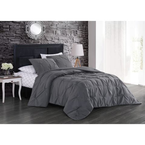 Silver Orchid Allen Solid Bed in a Bag