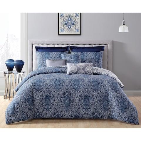 Blue Comforter Sets   Find Great Bedding Deals Shopping at Overstock