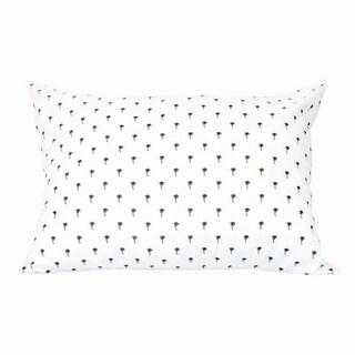 Palm Tree Pillows set of 4 - multi/White