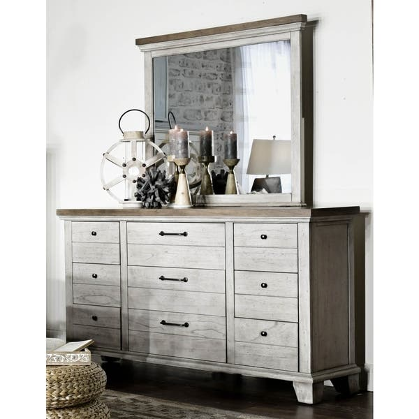 Gray Barn Overlook Two Tone Dresser