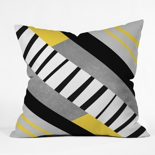 Deny Designs Geometric Combination Indoor/Outdoor Reversible Throw Pillow (4 sizes)