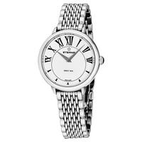 Eterna Women's 2800.41.62.1743 'Eternity' White Dial Stainless Steel Quartz Watch