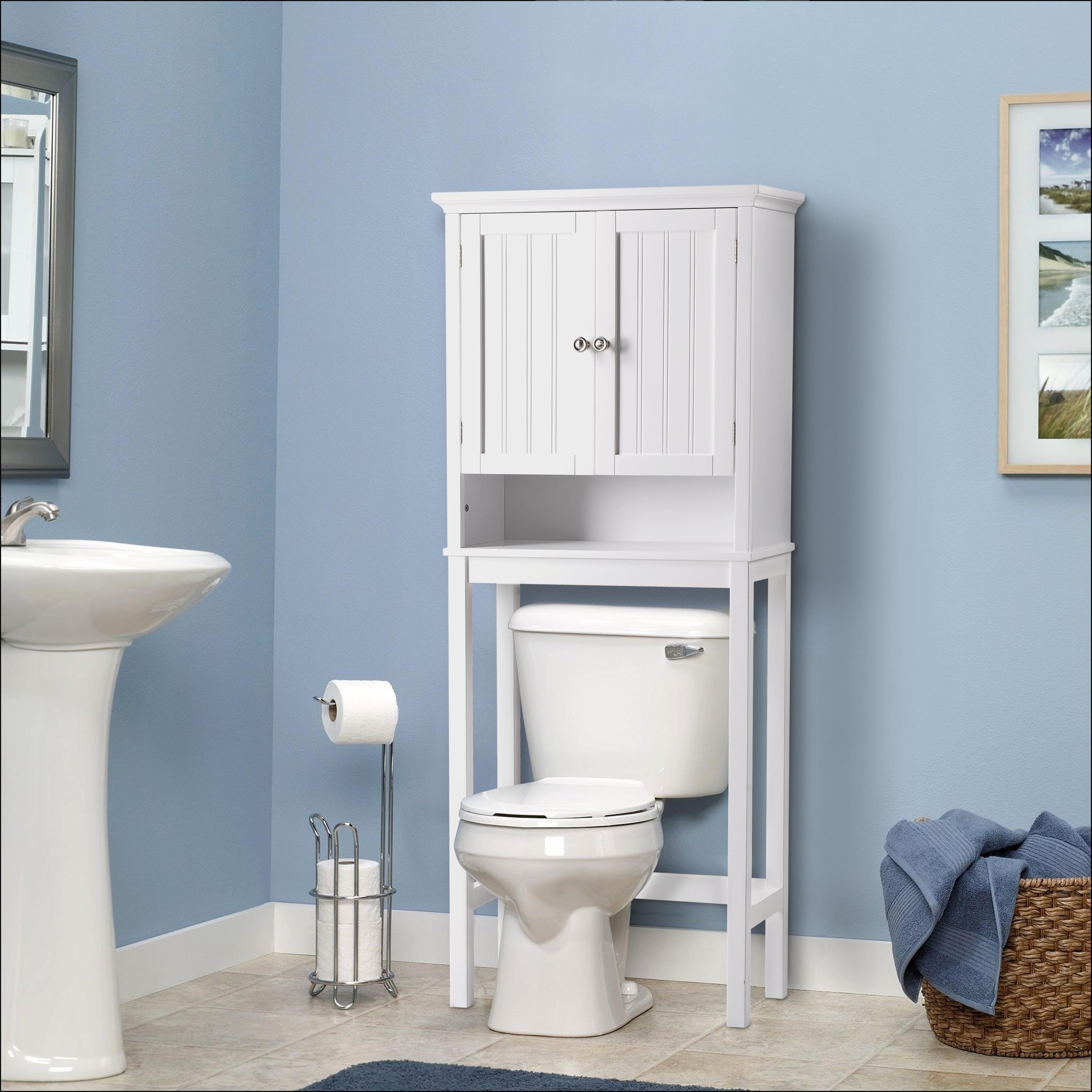Toilet Bathroom Storage Cabinet