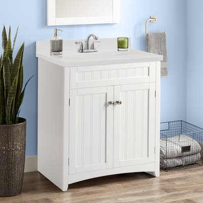 Copper Grove Radnevo Bathroom Vanity Cabinet with Resin Basin