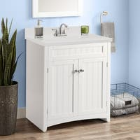 Copper Grove Radnevo Bathroom Vanity Cabinet with Resin Basin