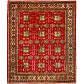 eCarpetGallery  Hand-knotted Finest Gazni Red Wool Rug - 8'3 x 9'10