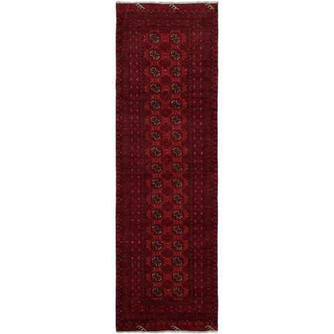 eCarpetGallery Hand-knotted Finest Khal Mohammadi Red Wool Rug - 2'5 x 8'11