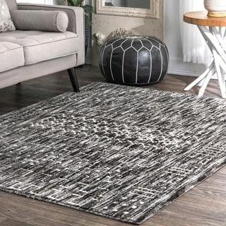 Strick & Bolton Duprez Geometric Aztec Area rug