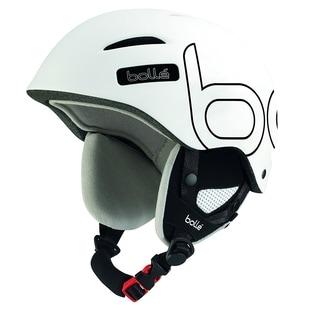 Bolle B-Style Ski Helmet (Soft White/Black/ 58-61cm) - White