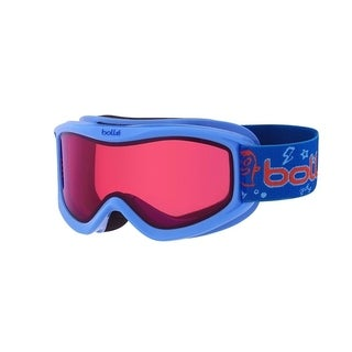 Bolle Amp Junior Snow Goggles (Blue Monster/Vermilion Lens)
