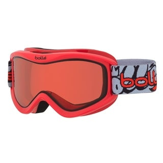 Bolle Volt Snow Goggles (Red Graffiti Frame/Vermillon Lens)