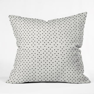 Deny Designs Tiny Polka Dots Indoor/Outdoor Reversible Throw Pillow (4 Sizes)