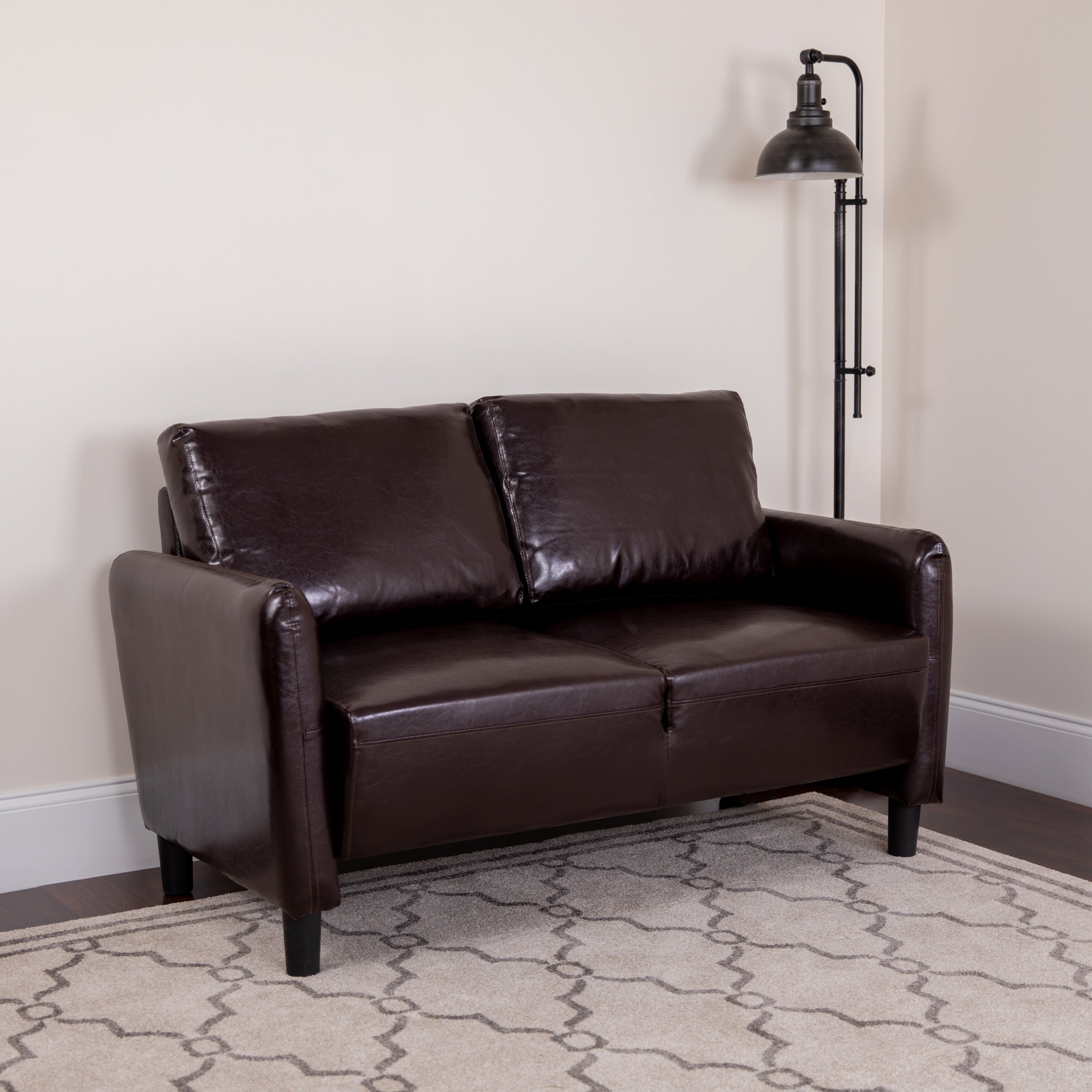 Fine Buy Faux Leather Loveseats Online At Overstock Our Best Squirreltailoven Fun Painted Chair Ideas Images Squirreltailovenorg