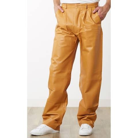 Men's Honey Leather Dress Pants