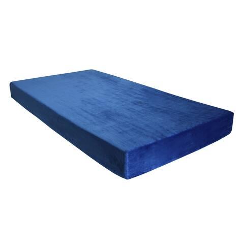 Omne Sleep 7-inch Twin-size Gel Charcoal Memory Foam Mattress with Waterproof Cover