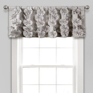 "Lush Decor Riley Window Curtain Valance - 18"" x 52"""