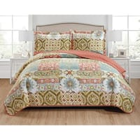 Hunter 3-Piece Reversible Quilt Set