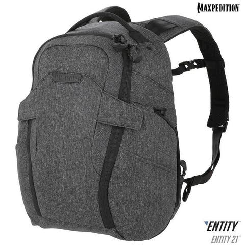 Maxpedition Entity 21 CCW-Enabled EDC Backpack 21L Charcoal
